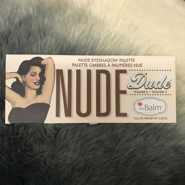 The Balm Nude Dude Eyeshadow Palette Thebalm