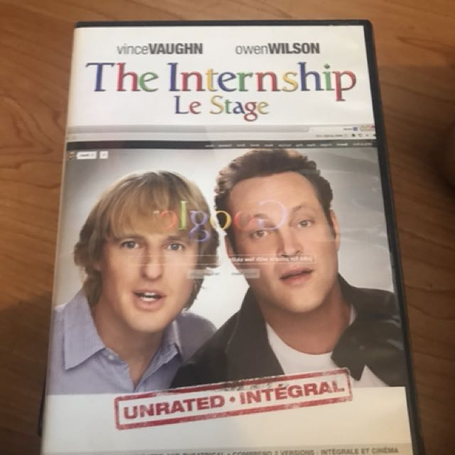 The internship le stage dvd