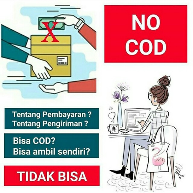Tidak melayani COD