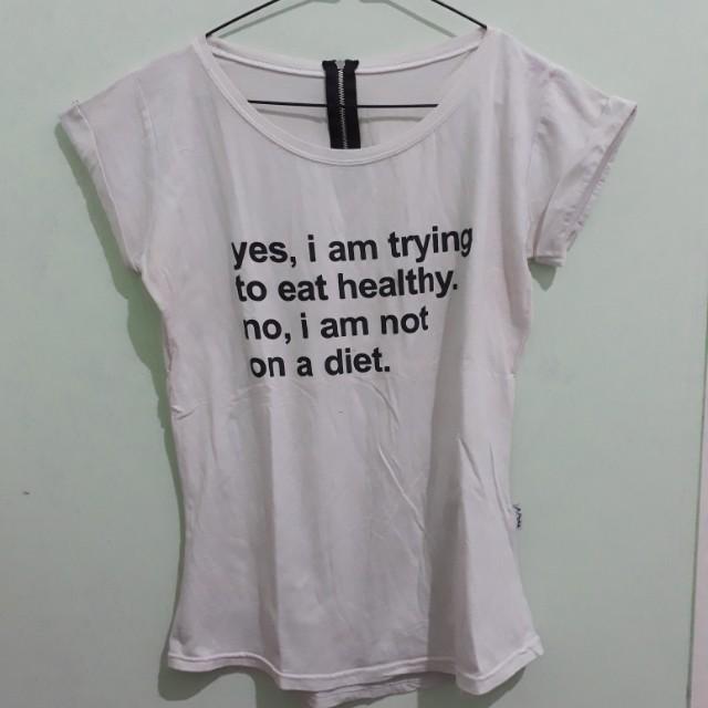 Tshirt white size m