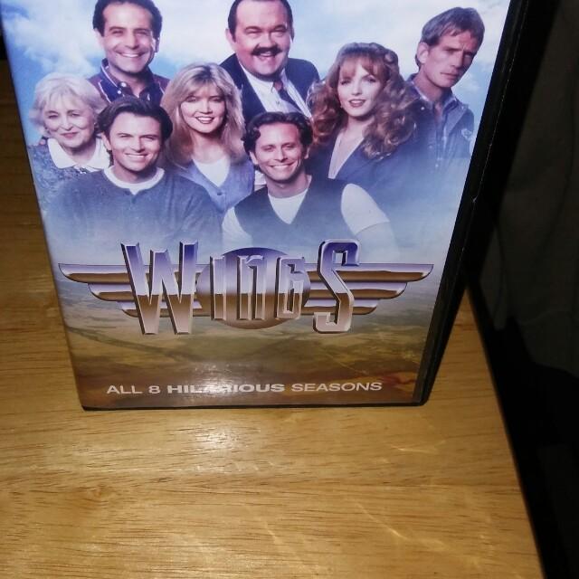 TV series wings Complete 8 season DVDs