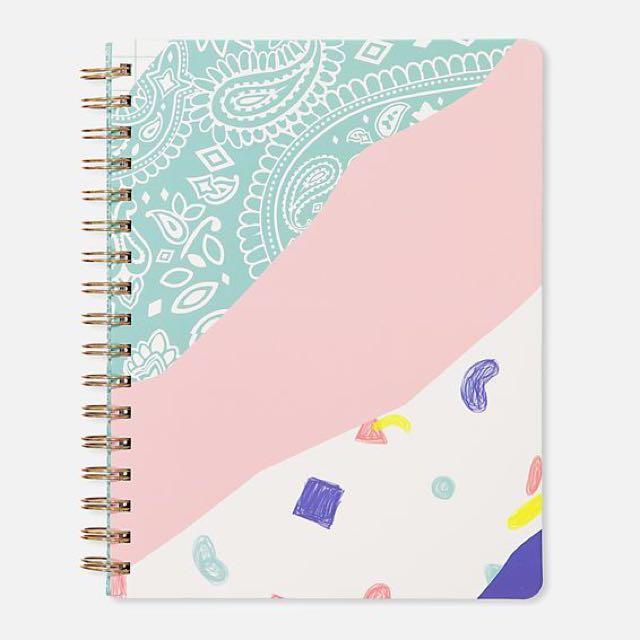 Typo B5 Premium Spiral Notebook