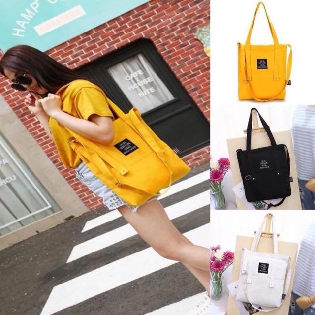 Yellow Korean Totebag