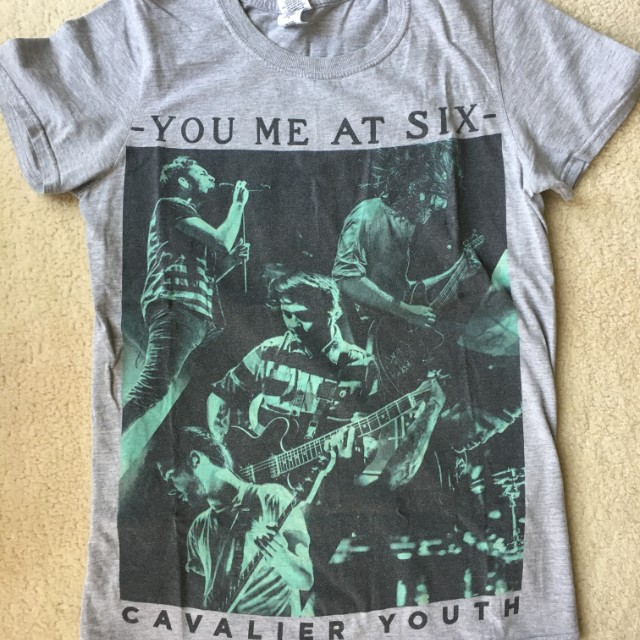 You Me At Six Cavalier Youth T shirtSize Small