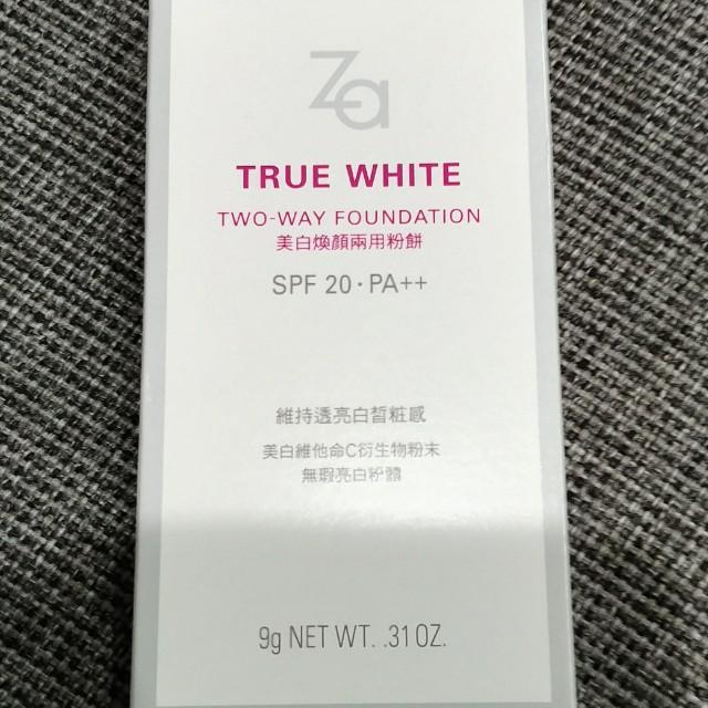 Za 美白煥顏兩用粉餅 #21白皙色