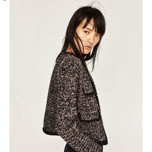 Zara Tweet Jacket