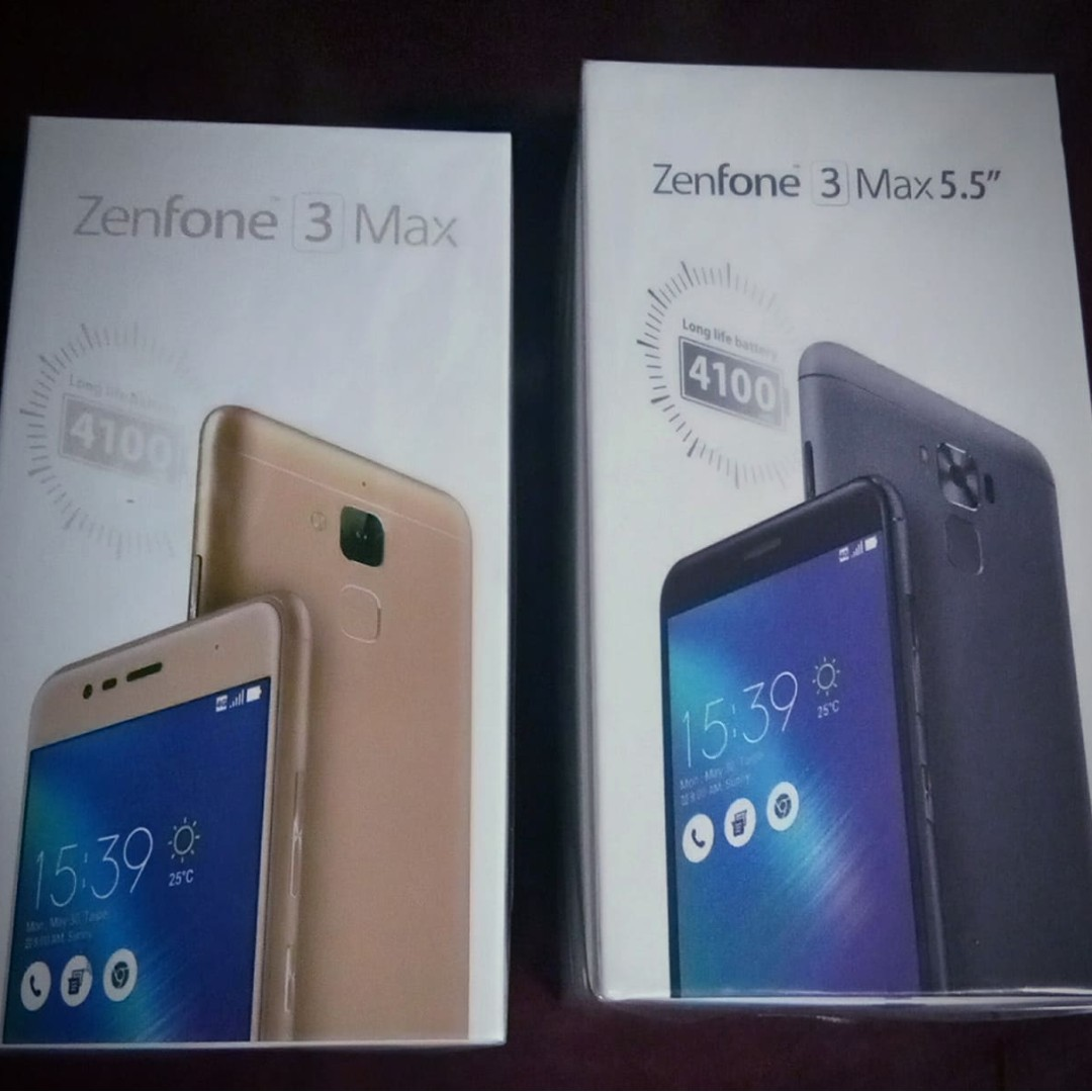 Zenfone 3 Max 5.2 and 5.5