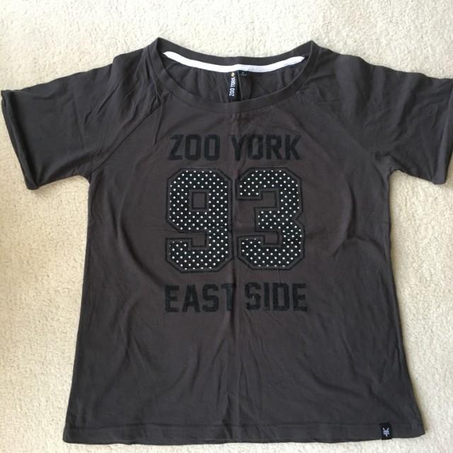 Zoo York Womens T shirtSize 14