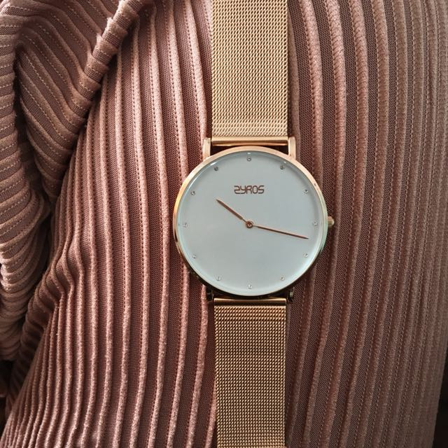Zyros Watch Rose-gold