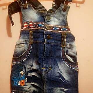Rok overall,celana jeans panjang 50rb aja