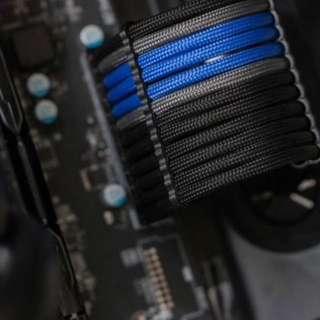 Custom Sleeve PSU Power Supply Cables