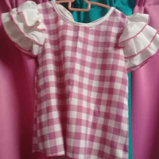 blouse kids peplum