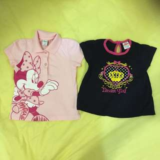 Minnie Mouse T-Shirt (RM12 For All)