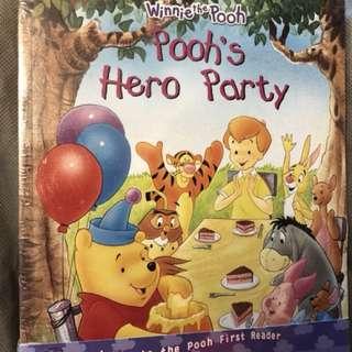 Winnie the Pooh 故事書(共五本)