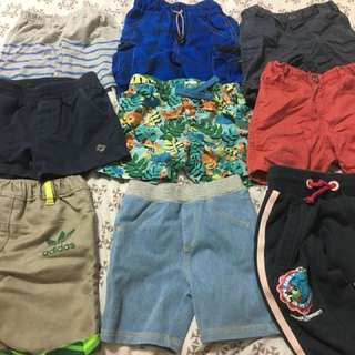 Bundle of shorts from Pony Adiddas Fox h&m uniqlo