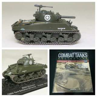 Military combat vehicle for souvenir or hobby or education - M4 Sherman tank