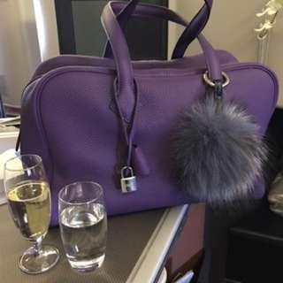 Hermes Victoria Iris (Purple) TC (95% new)