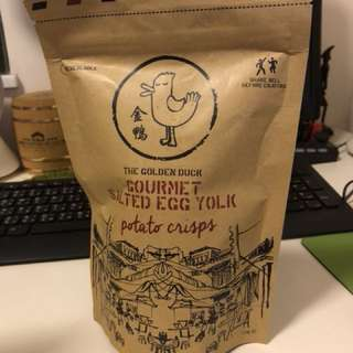 限買2包 - 新加坡金鴨咸蛋薯片 (適合新年招呼朋友)
