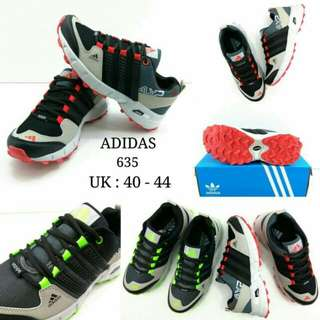 Shoes Sport Adidas 635 Cowok