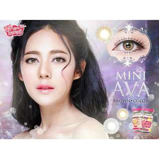 Mini Ava Softlens Kitty Kawaii