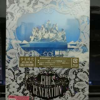 Girls Grneration First Japan Tour 豪華初回限定BD