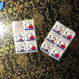 台灣7仔印花貼紙