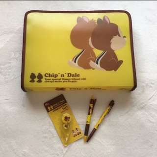 Chip n Dale Stationary Set