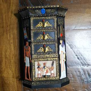 Egyptian Jewellery Box (Vintage)