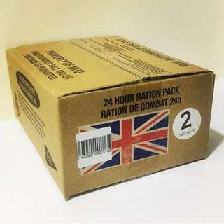 🇬🇧British Army 24 Hour Ration Pack - Menu 2