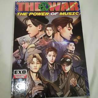 "EXO 4TH ALBUM REPACKAGED ""POWER"""