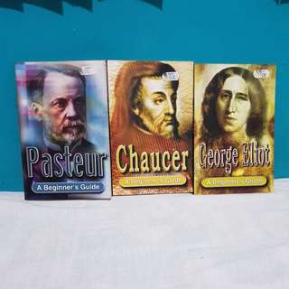 SET: CHAUCER, PASTEUR, GEORGE ELIOT.  A BEGINNER'S GUIDE.