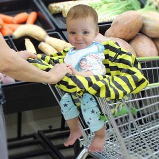 Baby chair and trolley cover