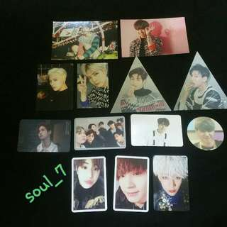 [WTS / WTT] GOT7 PHOTOCARDS FROM VARIOUS ALBUM