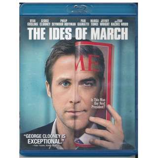 The Ides Of March (George Clooney / Ryan Gosling) Blu-Ray