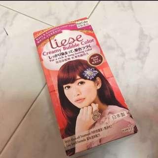 Liese Hair Dye in Maple Red