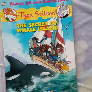 THEA STILTON- The secrets of Whale Island
