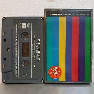 Cassette》Pet Shop Boys - Introspective