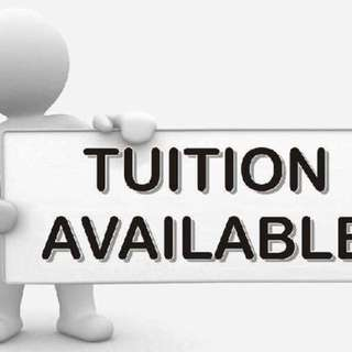 $30/hr- PSLE maths and science private tuition