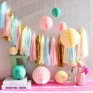 Party tassels garland