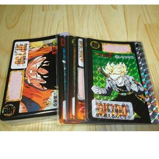 Dragonball carddass part 10 fullset