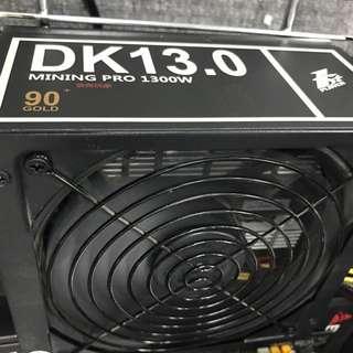 1st Player DK13.0 1300W 礦機火牛