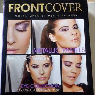 Front cover metallic palette
