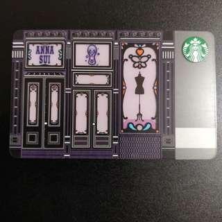 Starbucks X Anna Sui Card 星巴克卡