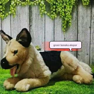 Boneka Anjing Herder Jumbo