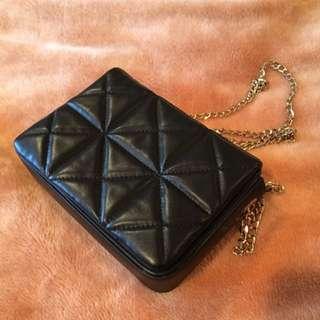 Zara small quilted crossbody