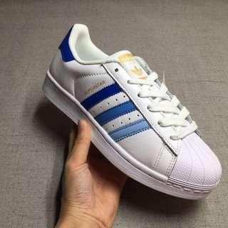 Adidas Superstar Blue Gradual Change