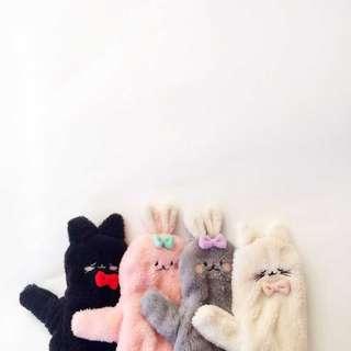 🎏日本tutu軟綿綿情侶手套🐈 男女共用 4款