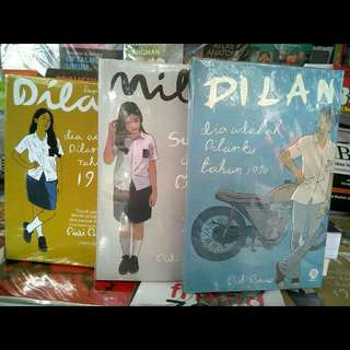 Novel Dilan 1990 , Dilan 1991 , Milea