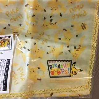 比卡超 pokemon Pikachu 手巾