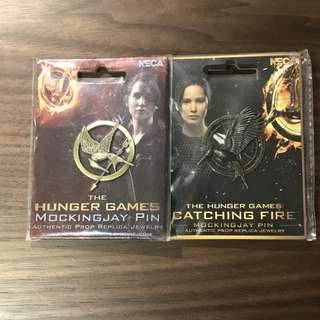 The Hunger Games - Pins